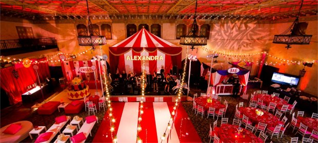 Carnival themed Bat Mitzvah at
