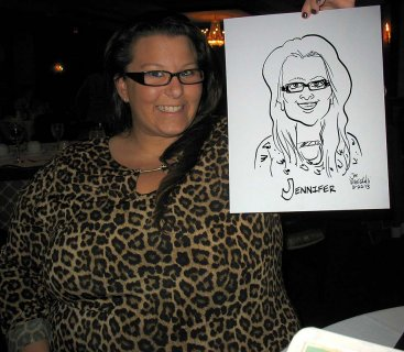Corporate Events Caricature in