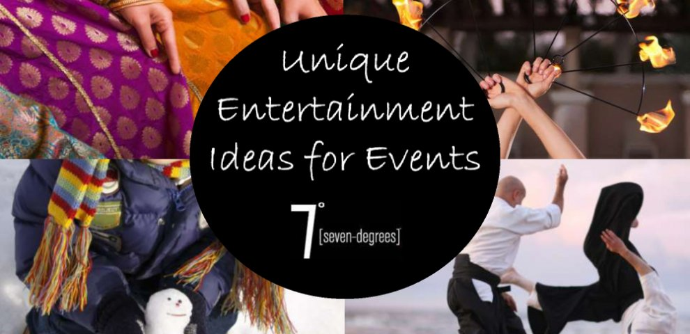 Entertainment Ideas for Events