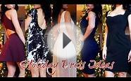 Holiday Dress Ideas! For Christmas & New Years 2014 + Tryons!